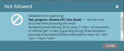 Time_Screenshot error while approving the email.png