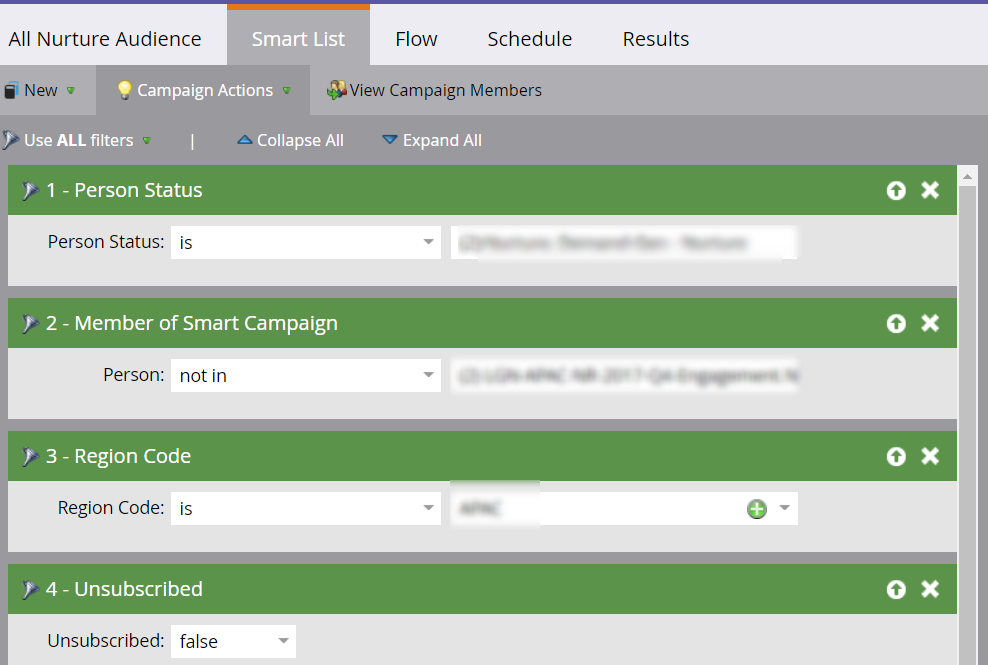 Marketo   All Nurture Audience  Smart List  • Marketing Activities.png